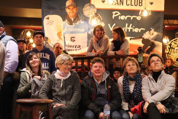 Toute la famille et les proches de Pierre Vaultier ont assisté à la victoire de leur champion