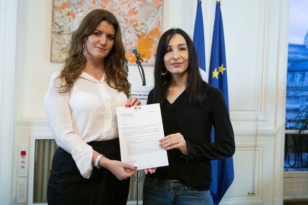 27/01/2020. Alexandra Louis (D), députée des Bouches-du-Rhône, va enquêter et rédiger un rapport sur l'efficacité de la loi contre les violences sexistes et sexuelles.