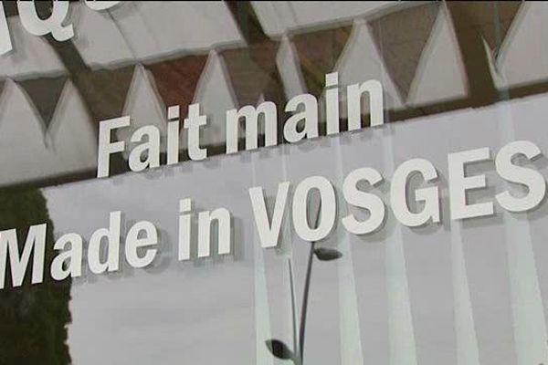 """Le """"fait main"""", """"made in Vosges""""...la caractéristique majeure de cette boutique"""