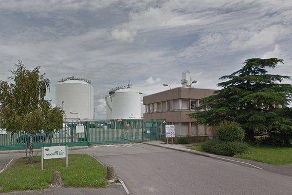 L'usine Air Products de Saint-Quentin-Fallavier en Isère