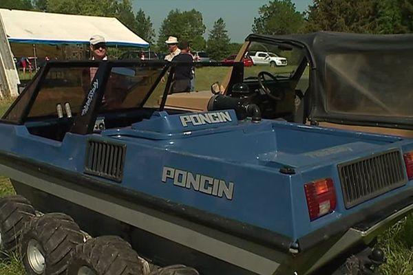 Les véhicules Poncin ont failli servir pour l'armée. A la place, c'est Peugeot qui, à l'époque, avait remporté l'appel d'offres / Ardennes, le 20 mai 2018