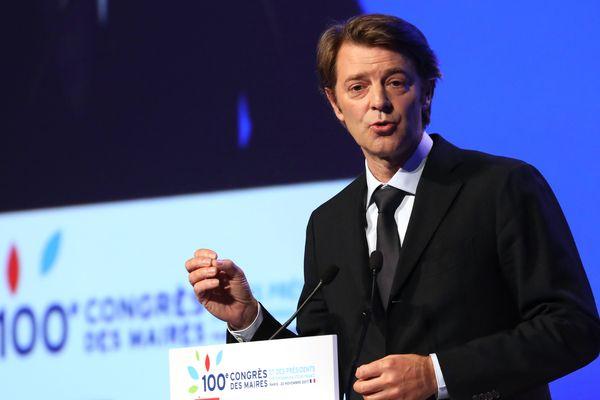 François Baroin le 23 novembre à Paris, lors du congrès de l'Association des maires de France.