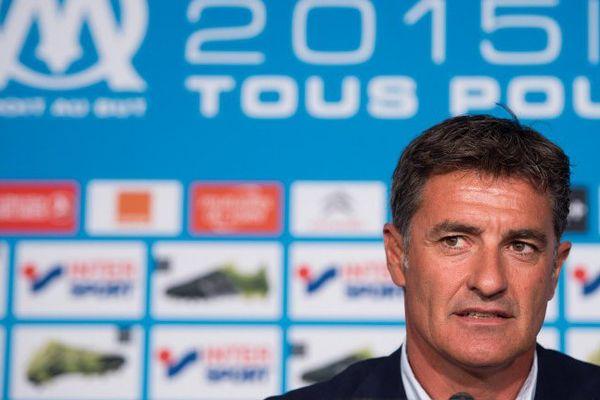L'entraîneur de l'Olympique de Marseille, Michel.