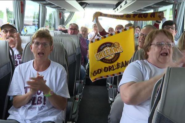 Orléans Loiret Basket, tes supporters sonr là!