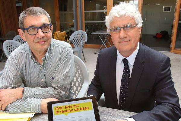 Le président du conseil départemental du Gers, Philippe Martin, présentait le 19/04/18 le site internet sur la consultation du revenu de base