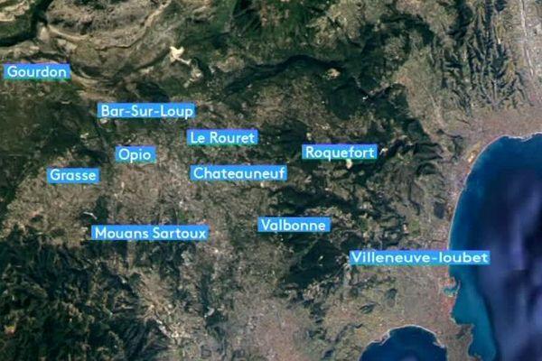10 communes potentiellement concernées.