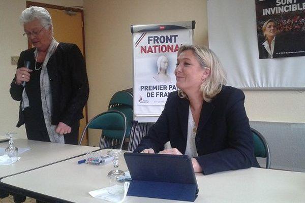 Marine Le Pen à Foix