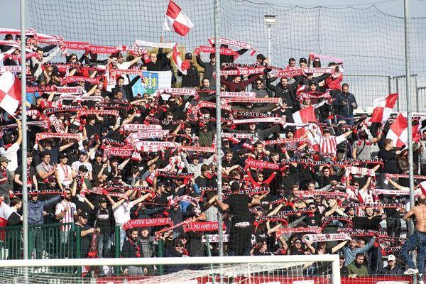 ILLUSTRATION/ Les supporters de l'AC Ajaccio