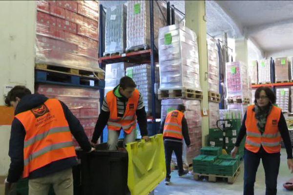 Les apprentis du CFA de Besançon ont aidé la banque solidaire