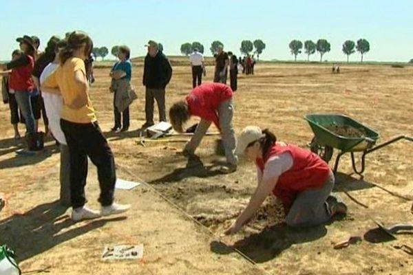 Des fouilles archéologiques en Picardie