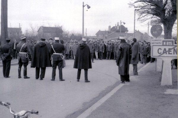 Manifestation des ouvriers de la SMN
