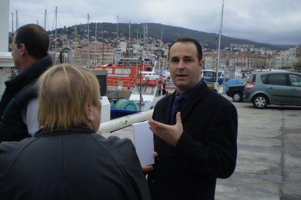 Yann Farina, conseiller municipal Front National de La Ciotat.