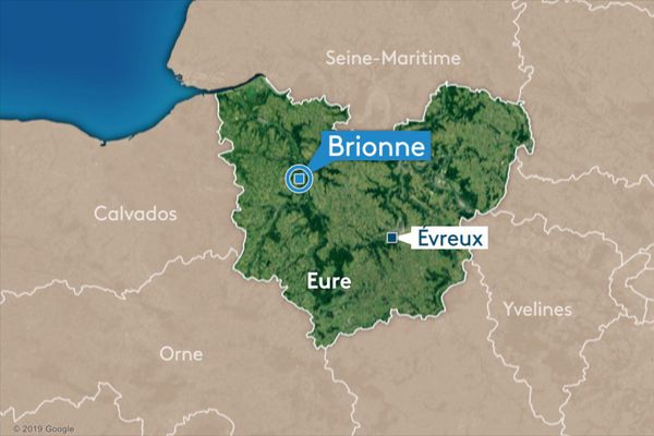 Carte de Brionne