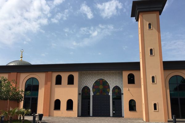 La grande mosquée de Reims, ce mardi 4 juin.
