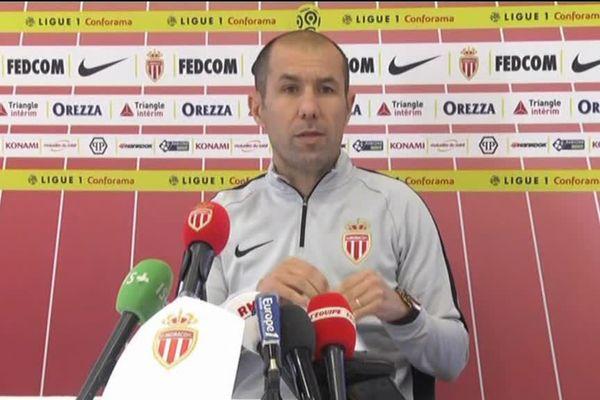 Leonardo Jardim, lors de la conférence de presse.