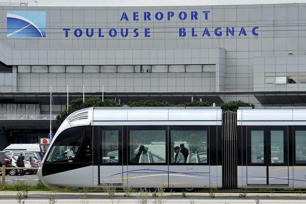 L'aéroport de Toulouse-Blagnac.