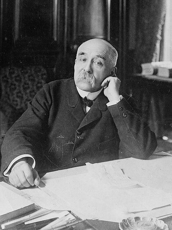 Georges Clemenceau en 1904.