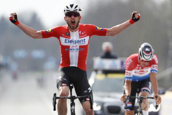 Le Danois Kasper Asgreen remporte son premier Tour des Flandres.