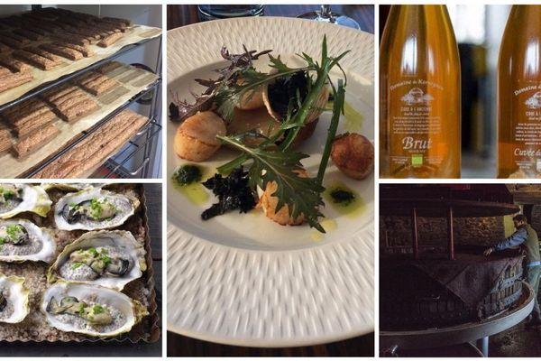 Des recettes à essayer, à base de produits bretons : cidre, blé noir, huîtres...