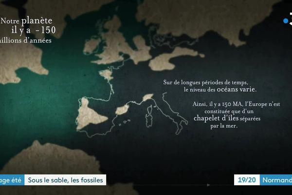 La Normandie, il y a 150 millions d'années