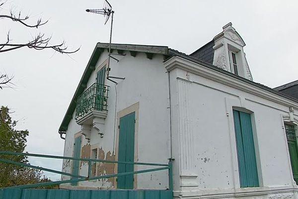 Une des maisons de la rue du Phare à La Perrotine sauvée de la destruction.