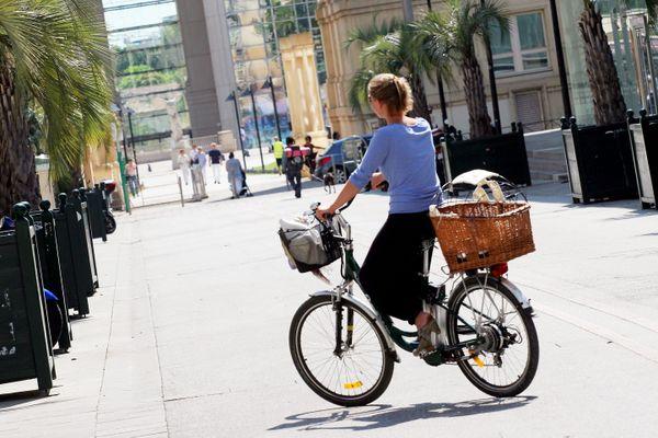Les soignants intéressés pourront bénéficier d'un vélo pour leurs déplacements pendant le confinement (photo d'illustration).