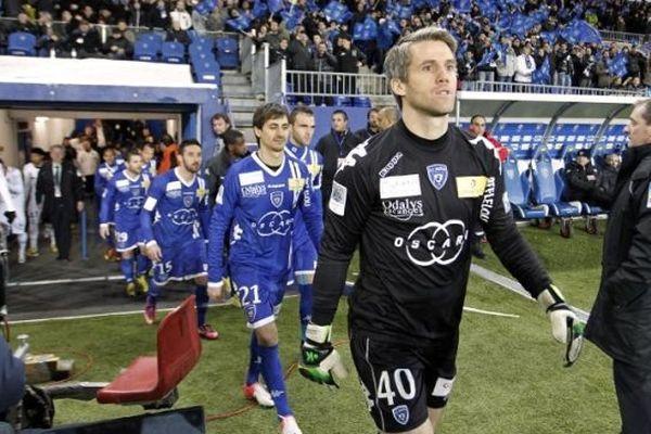 """De son propre aveu, Mickaël Landreau """"n'a jamais connu une ambiance comme celle de Furiani un soir de derby""""."""