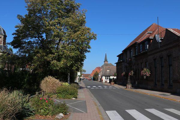 Le village de Rieulay