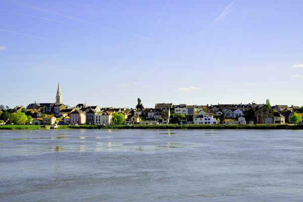 La commune du Pellerin, sur les rives de la Loire