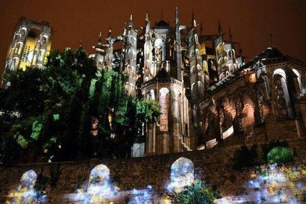 Les Chimères de la cité Plantagenêt, cathédrale du Mans, décembre 2014