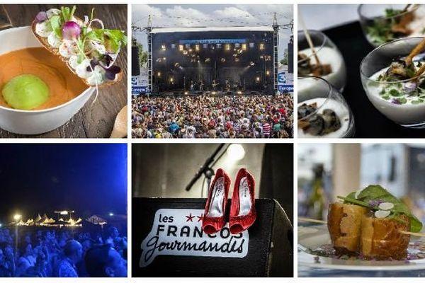 Les Francos Gourmandes proposent de réunir en un même lieu deux grandes passions françaises : la musique et la gastronomie.