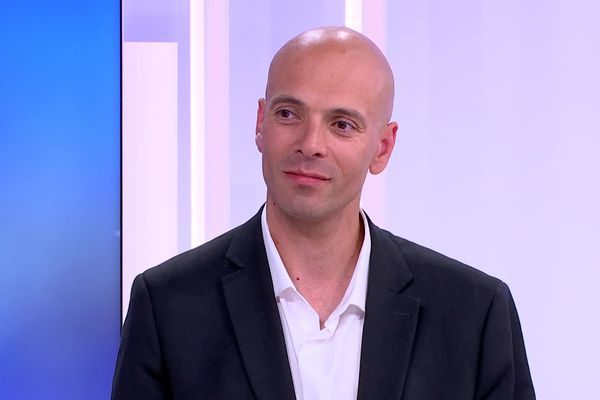 Eric Koeberlé, maire de Bavilliers