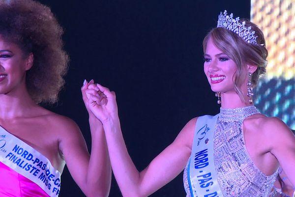 Florentine Somers, Miss Dunkerquois, succède à Annabelle Varane au titre de Miss Nord Pas-de-Calais.