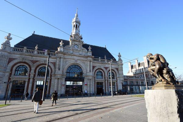 La gare de Valenciennes en 2017.