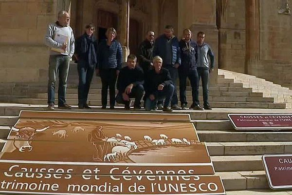 Mende - manifestation de la Coordination rurale de La Lozère - 2 octobre 2018.