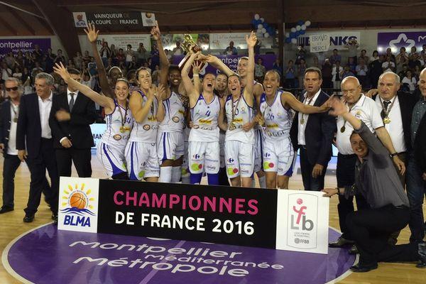 Les Gazelles de Lattes-Montpellier réalisent un fabuleux doublé coupe-championnat - 15 mai 2016