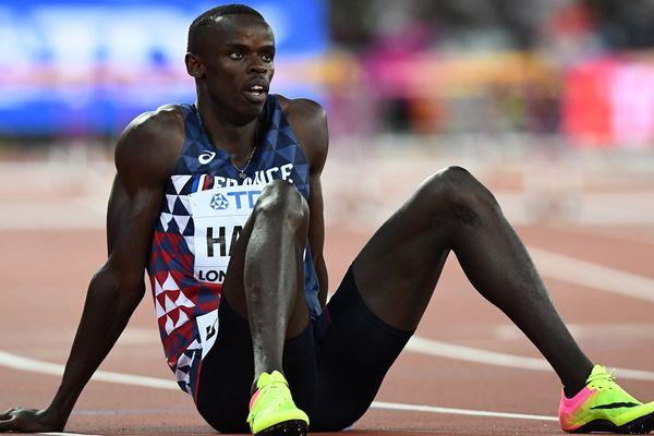 Mamadou Kassé Hann à Londres aux championnats du monde