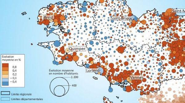La population bretonne en 2018