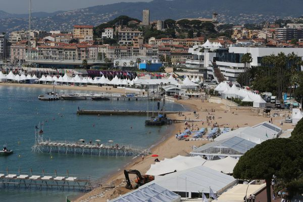 La ville de Cannes, avant le Covid.