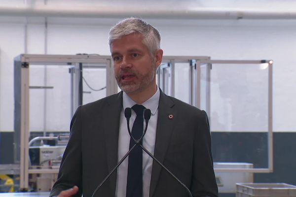 Laurent Wauquiez président (LR) sortant a annoncé sa candidature pour un second mandat