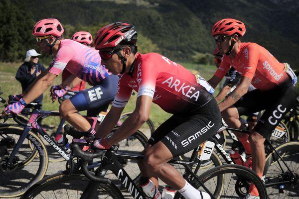 Nairo Quintana 6e au général à 13 sec, au départ de cette 8e étape du Tour