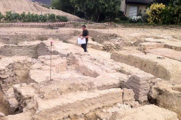 L'INRAP fouille une villa gallo-romaine à Noyal-Châtillon-sur-Seiche