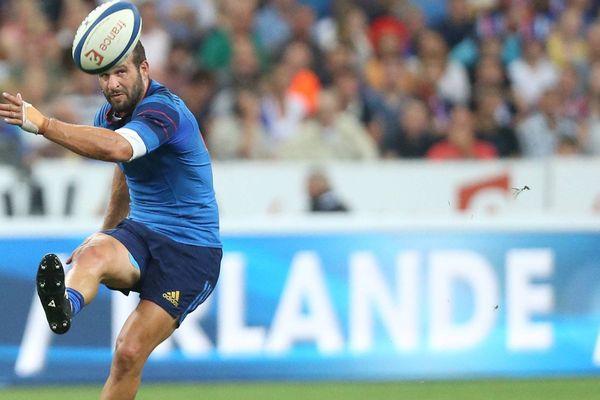 Août 2015. Match de préparation contre l 'Angleterre avant la coupe du monde de rugby.