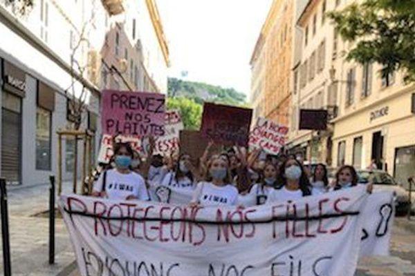 La manifestation avait rassemblé 300 personnes à Bastia, le 21 juin.