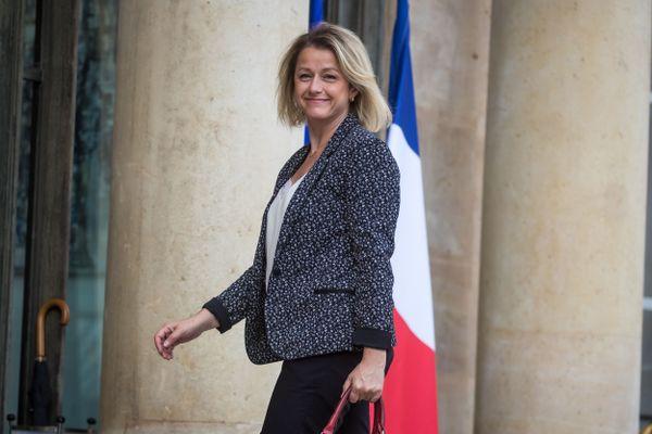 Barbara Pompili devant l'Élysée, le 29 juin 2020