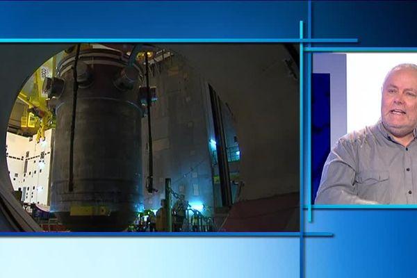 Yannick Rousselet, chargé des questions nucléaires à Greenpeace France