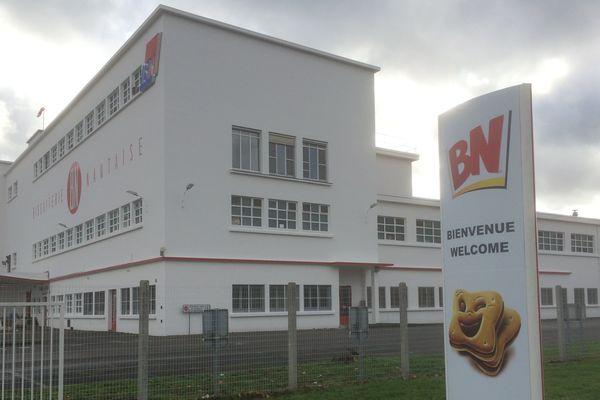 L'usine BN à Vertou emploie 380 à 400 personnes