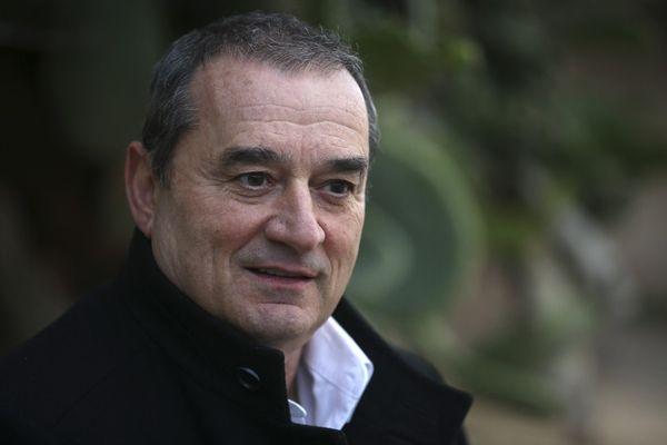 """François Filoni, tête de la liste """"Les nôtres avant les autres"""" soutenue par le Rassemblement National."""