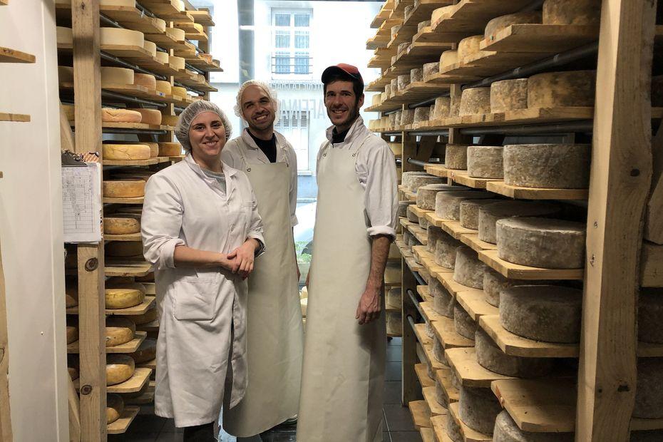 """Salon de l'agriculture : A la """"Laiterie La Chapelle"""" les fromages sont bio et parisiens !"""