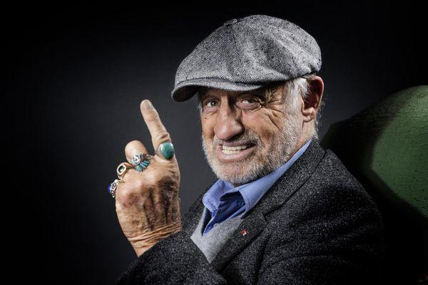 Jean-Paul Belmondo lors d'une séance photos en 2016. L'acteur s'est éteint lundi 6 septembre à l'âge de 88 ans.